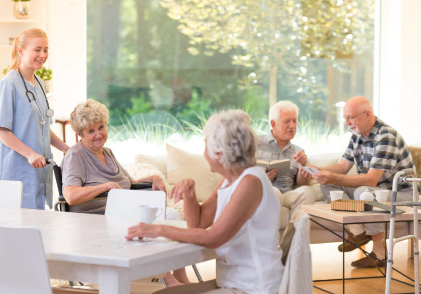 senior living center telecommunicationns and merchant processing